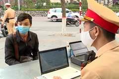 Lý do CSGT chưa thể xử phạt online rộng rãi