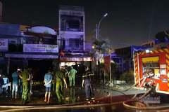 Cháy nhà trọ ở TP Thủ Đức, bốn sinh viên nhảy lầu thoát nạn