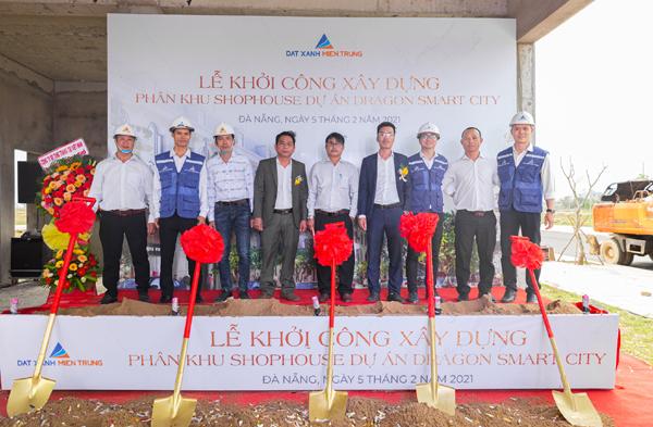 Đất Xanh Miền Trung khởi công nhiều dự án khai xuân Tân Sửu
