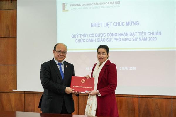 youngest female associate professor,vietnamese scientists,vietnam talent