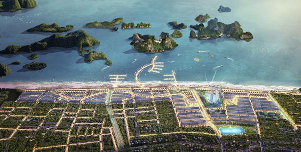 Dự án Green Dragon City hoàn thiện 95% giai đoạn I