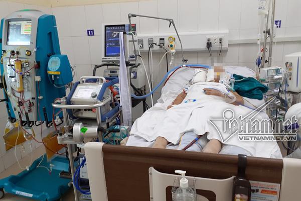 Bệnh nhân Covid-19 nặng hơn phi công Anh cai được ECMO, đang hồi phục