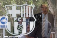 Cảnh sát điều tra Barca, ông Bartomeu bị bắt