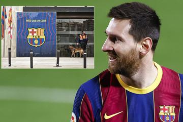 Barca loạn, Messi xem xét về đội Beckham
