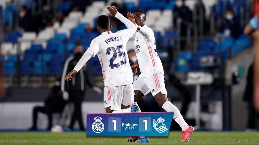Thoát thua phút 89, Real mất ngôi nhì vào tay Barca