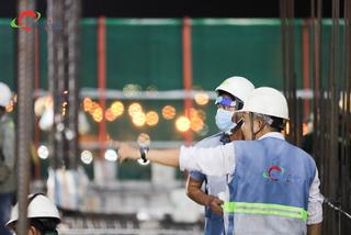 Những 'ánh sao đêm' trên công trường xây dựng của Coteccons