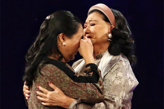 Chuyện đoàn tụ ly kỳ sau 45 năm của NSND Kim Cương và con gái nuôi