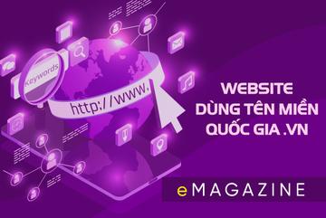 Website dùng tên miền quốc gia .vn tăng tin cậy trong kinh doanh online