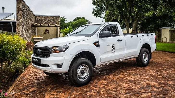Ford Ranger phiên bản chống đạn ra mắt tại Nam Phi