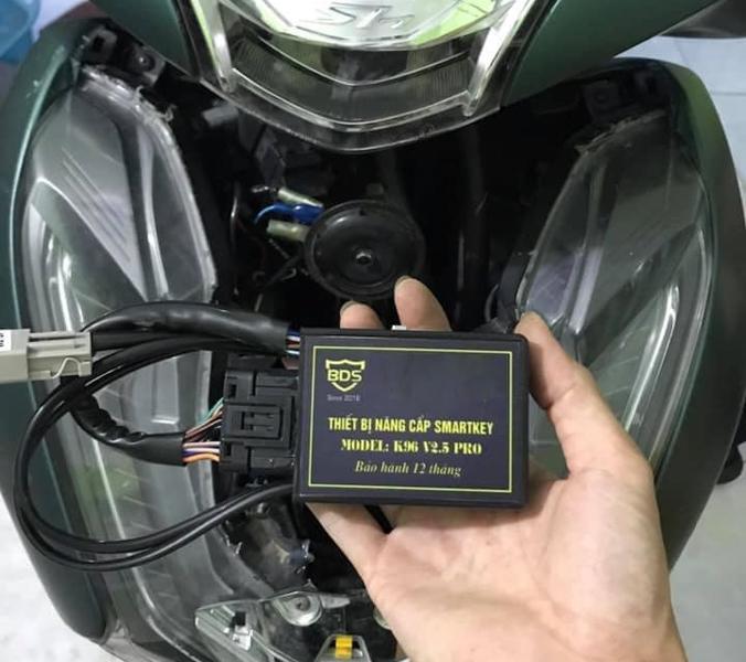 Có khóa thông minh sao vẫn dễ mất Honda SH?