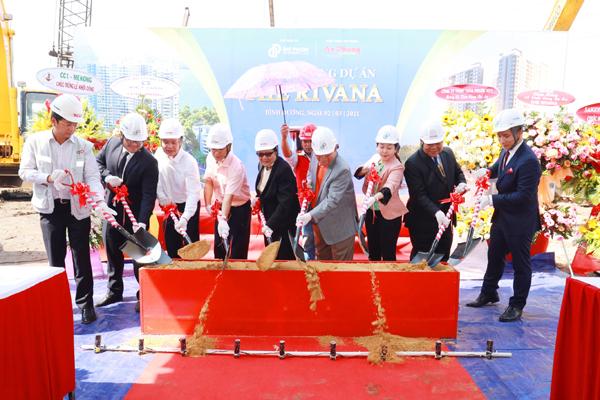 Khởi công xây dựng khu căn hộ cao cấp The Rivana