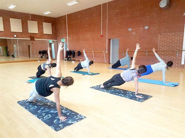 Remote classes a winner for yoga teacher