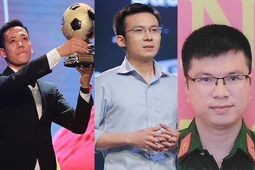 Cầu thủ Văn Quyết giao lưu trực tuyến với độc giả báo VietNamNet