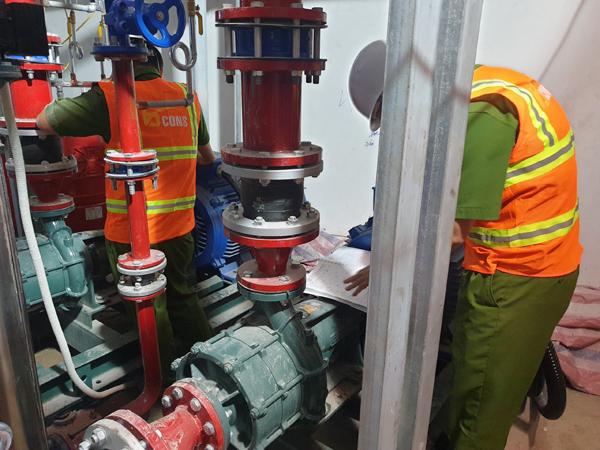 Dự án của Bcons ứng dụng loạt tiêu chuẩn phòng cháy chữa cháy mới