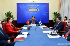 Vietnamese, Cuban deputy foreign ministers hold political consultation