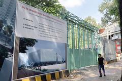 'Đất vàng' bỏ hoang, dự án Nhà thi đấu Phan Đình Phùng vẫn nằm trên giấy