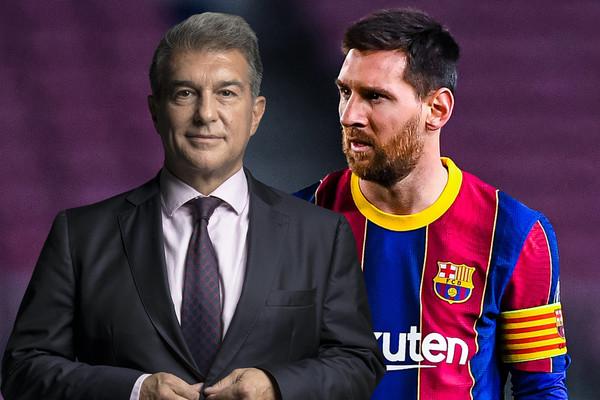 Ứng viên ghế Chủ tịch Barca tuyên bố, Messi muốn ở lại Nou Camp