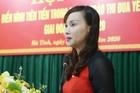 Bà Đặng Thị Quỳnh Diệp được giao quyền Giám đốc Sở GD-ĐT Hà Tĩnh