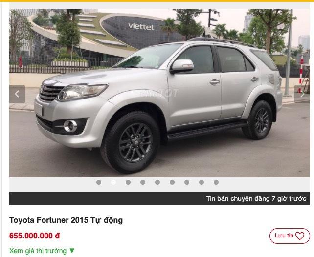 Có nên mua 'thánh lật' Toyota Fortuner đời 2015?