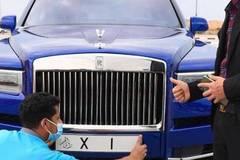 Nam doanh nhân tậu thêm Rolls-Royce chỉ để gắn biển số đặc biệt