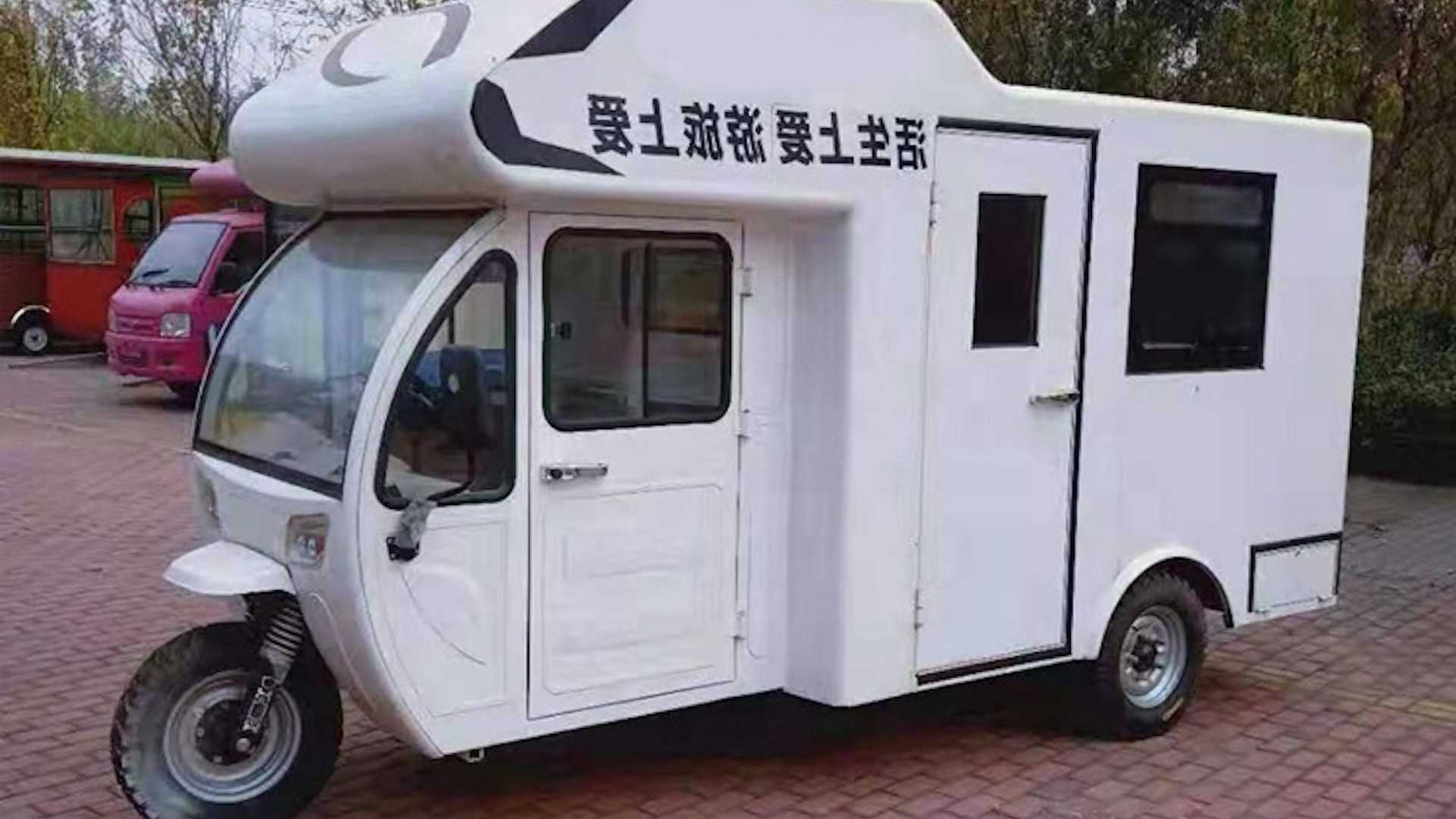 """Xe """"nhà di động"""" giá 110 triệu đến từ Trung Quốc"""