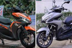 Loạt xe máy Trung Quốc nhái trắng trợn thiết kế xe Honda, Yamaha