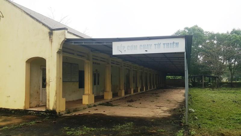 Cảnh hoang phế ở Trung tâm khám, chữa bệnh Võ Hoàng Yên tại Hà Tĩnh