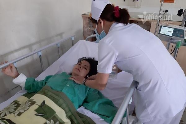 Thai phụ Phạm Thị Minh được giúp đỡ hơn 300 triệu đồng