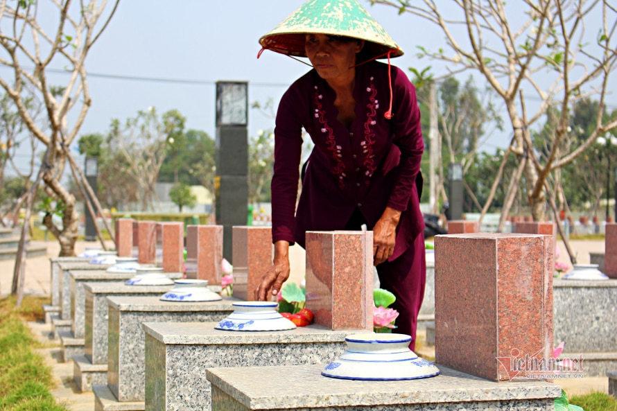 martyrs' cemetery,Nguyen Thi Ngoc Hiep