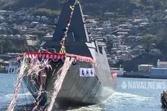 Sức mạnh tàu khu trục Nhật Bản mới hạ thủy