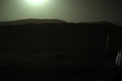 Tàu Perseverance gửi hình ảnh Mặt Trời nhìn từ Hỏa Tinh