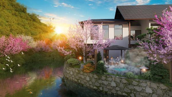 Sun Onsen Village-Limited Edition - tuyệt tác từ 'báu vật' thiên nhiên