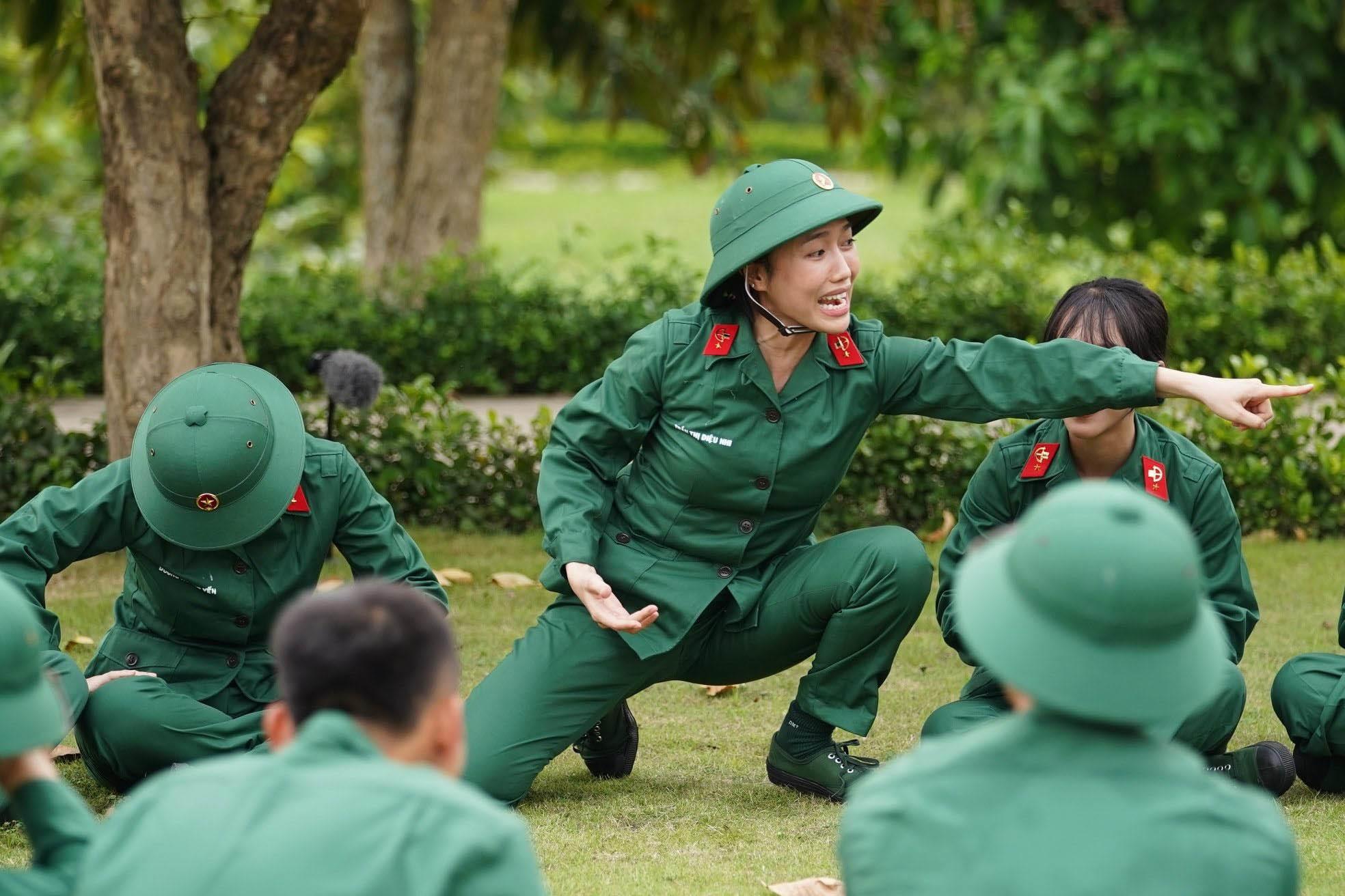 Diệu Nhi và những màn 'tấu hài' gây cười trong 'Sao nhập ngũ'