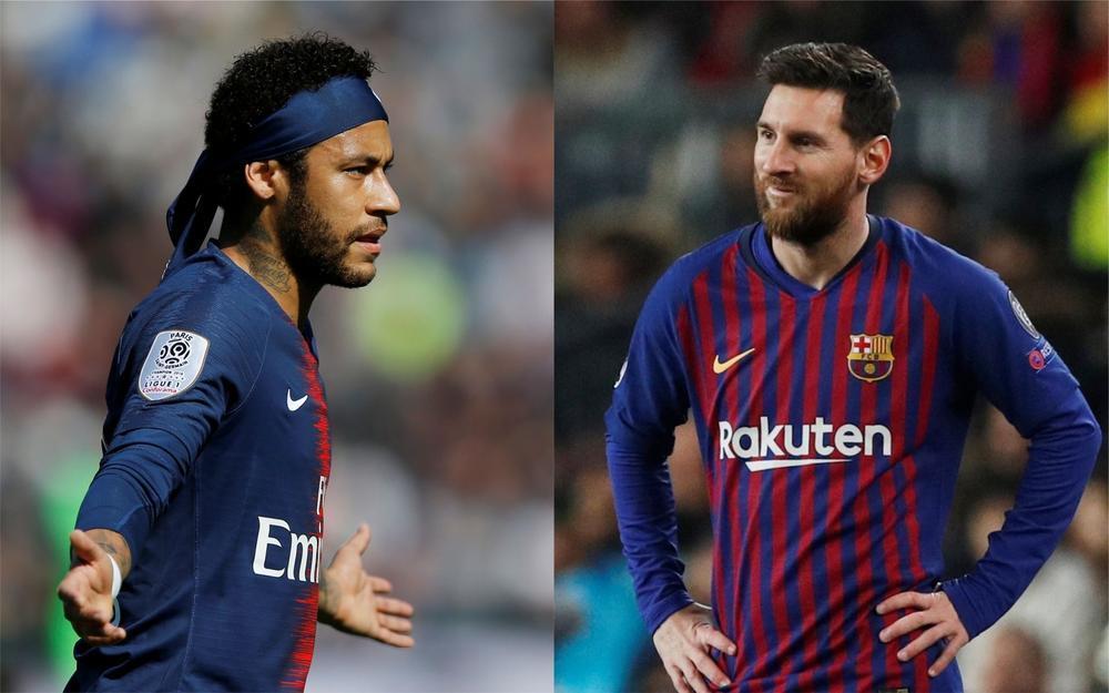 MU thất thế với Man City, Neymar đua đấu Messi