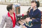 Vân Dung đăng ảnh hậu trường hiếm có phim 'Hướng dương ngược nắng'