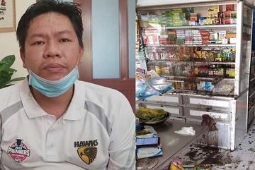 Bắt cặp vợ chồng chủ mưu vụ 6 lần tạt sơn, mắm tôm vào tiệm thuốc tây Sài Gòn