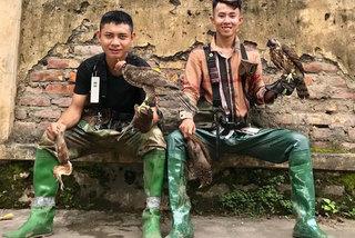 Thú chơi nuôi chim đại bàng