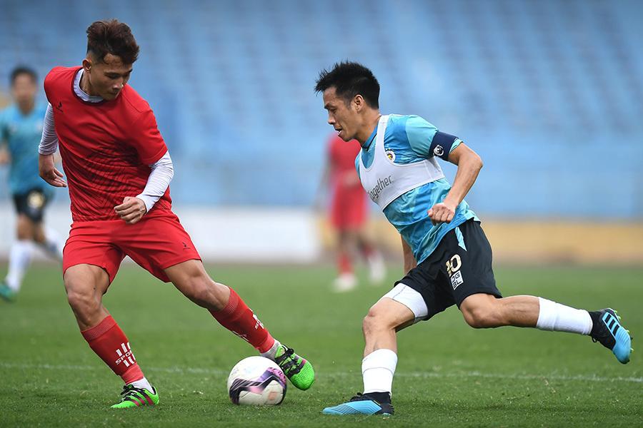 Quang Hải chấn thương, đội đầu bảng V-League than gặp khó
