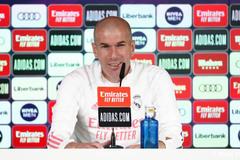 "Zidane tự tin: ""Real Madrid sẽ thắng derby"""