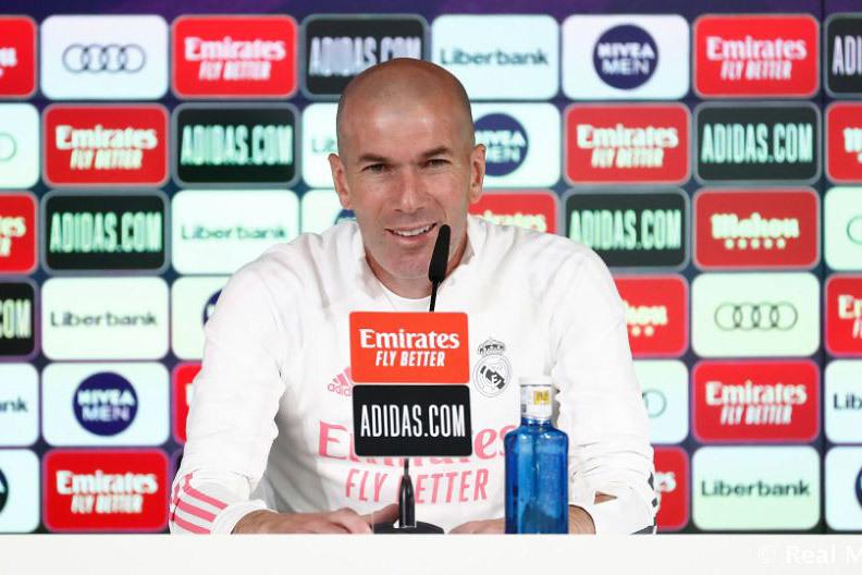 Zidane tự tin: 'Real Madrid sẽ thắng derby'