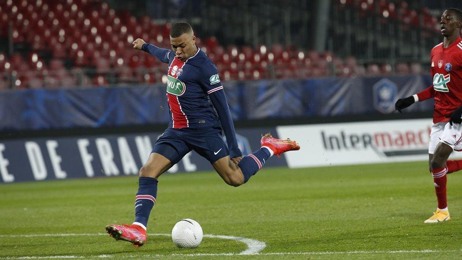 Mbappe sáng rực, PSG vào vòng 1/8 Cúp quốc gia Pháp