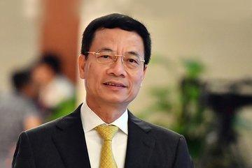 Phát biểu chỉ đạo tại buổi làm việc với Tổng Công ty VTC của Bộ trưởng Bộ TT&TT Nguyễn Mạnh Hùng