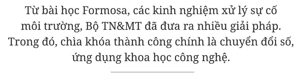 ô nhiễm môi trường,Bộ trưởng Trần Hồng Hà,chuyển đổi số,Formosa