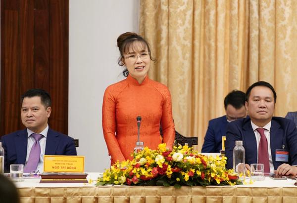 Nữ tỷ phú Nguyễn Thị Phương Thảo: 'Hãy tin tưởng ở kinh tế tư nhân'