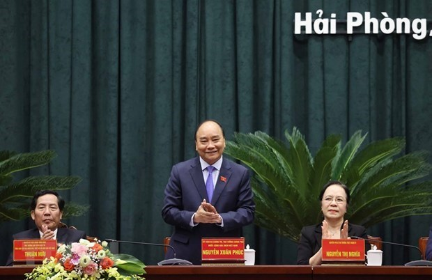 PM Nguyen Xuan Phuc,Hai Phong voters,Vietnam politics news