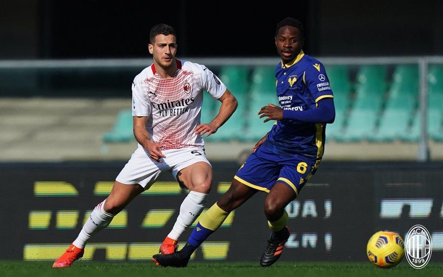 Hậu vệ MU ghi bàn đẹp mắt giúp AC Milan thắng trận