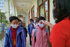 Học sinh Hải Phòng, Hải Dương khai báo y tế, trở lại trường