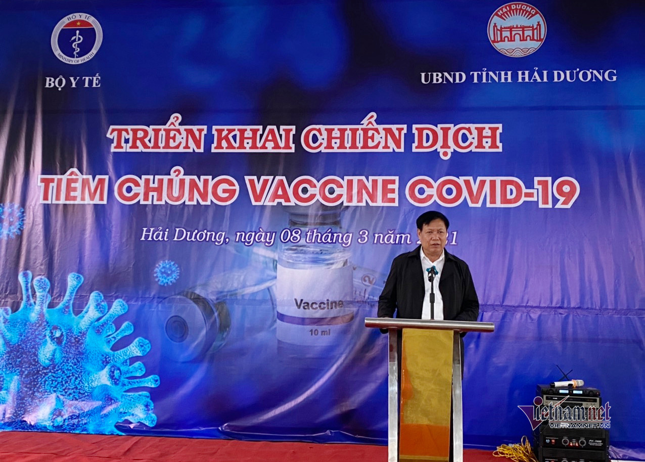 Covid-19 vaccinations begin in Vietnam