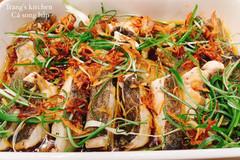 Cách làm cá hấp mất mùi tanh, thơm ngon đặc biệt