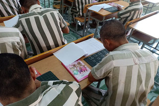 Making the most of life behind bars